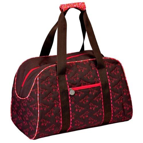 Фото - Сумка спортивная Spiegelburg Pferdefreunde 11448, бордовый сумки для детей spiegelburg сумка pferdefreunde 30417
