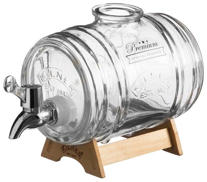 Диспенсер для напитков Диспенсер для напитков Barrel на подставке 1 л Kilner K_0025.793V