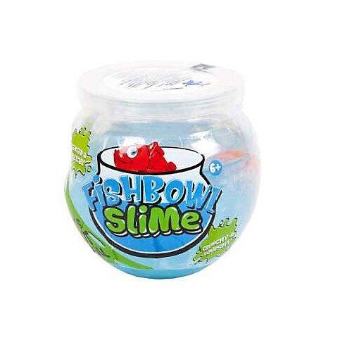 Лизун Junfa toys Fishbowl Slime голубой