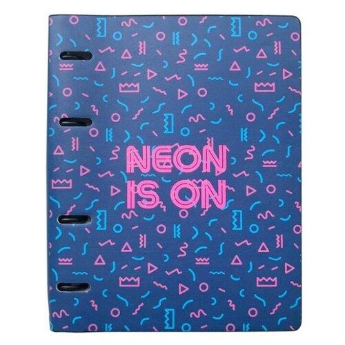 InFolio Тетрадь Neon Tropics А5, клетка, 120 л.