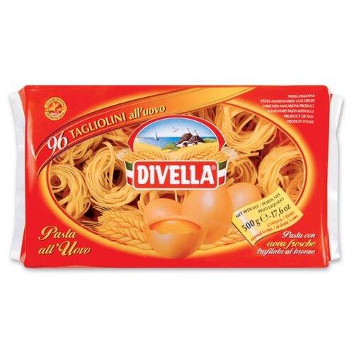 Divella Макароны All Uovo Tagliolini яичные, 500 г