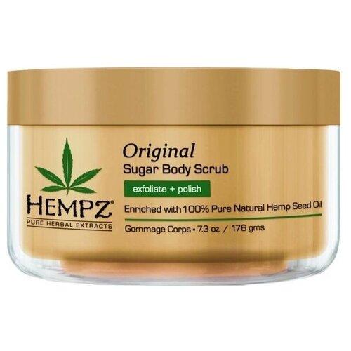 Hempz Скраб для тела Оригинальный, 176 г hempz triple moisture herbal whipped creme body scrub скраб для тела тройное увлажнение 176 гр