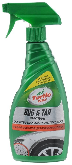 Очиститель кузова TURTLE WAX от гудрона и следов насекомых Bug Tar Remover, 0.5 л