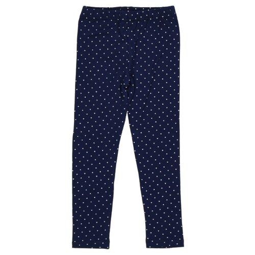 Леггинсы Roxy Foxy GL079-706 размер 98, синий/белый горошек шорты roxy foxy размер 98 темно синий