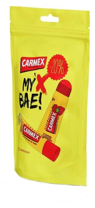 Carmex Набор бальзамов для губ дой-пак Strawberry и Классика — купить по выгодной цене на Яндекс.Маркете