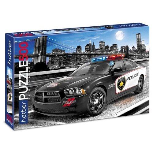 Купить Пазл Hatber Premium Городская полиция (500ПЗ2_11959), 500 дет., Пазлы