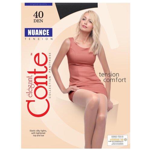 Фото - Колготки Conte Elegant Nuance 40 den, размер 2, nero (черный) комплект conte elegant conte elegant mp002xw13v8a