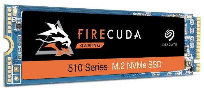 Купить Твердотельный накопитель FireCuda 510 SSD ZP1000GM30011 1Tb 3D TLC M.2 2280 PCIe G3 x4, NVMe 1.3 по низкой цене с доставкой из Яндекс.Маркета (бывший Беру)