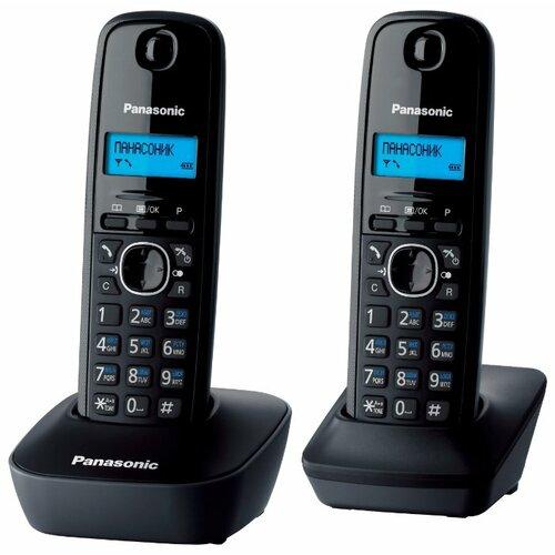 Купить Радиотелефон Panasonic KX-TG1612 серый