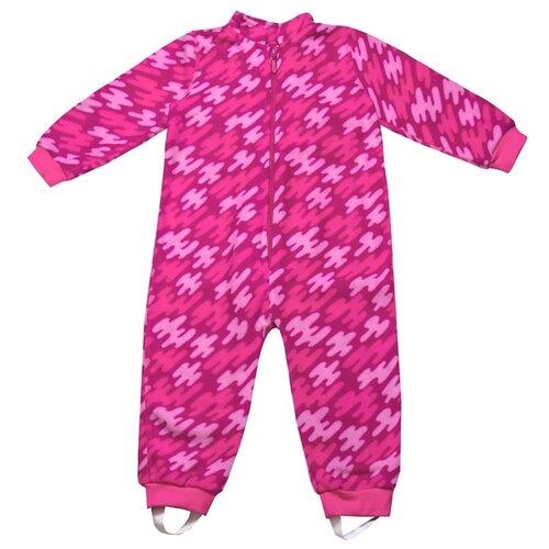 Комбинезон Апрель размер 86-52, штрихи розовый комбинезон апрель
