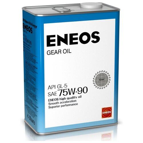 Трансмиссионное масло ENEOS GEAR GL-5 75W90 4 л 3.9 кг