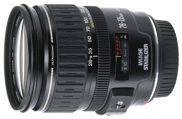 Объектив Canon EF 28-135mm f/3.5-5.6 IS USM