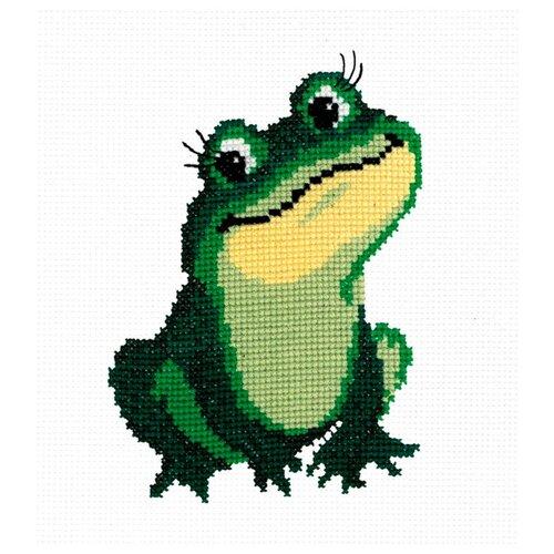 Купить РС-студия Набор для вышивания Лягушка 18 x 13 см (141), Наборы для вышивания