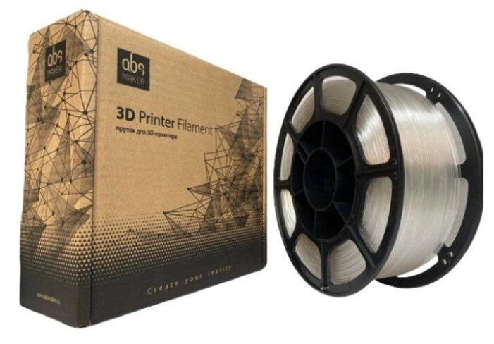 Купить PETG пруток АБС Мейкер 1.75 мм прозрачный 1 кг по низкой цене с доставкой из Яндекс.Маркета