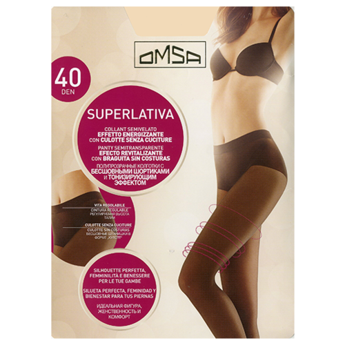 Колготки Omsa SuperLativa 40 den daino 2-S (Omsa)Колготки и чулки<br>