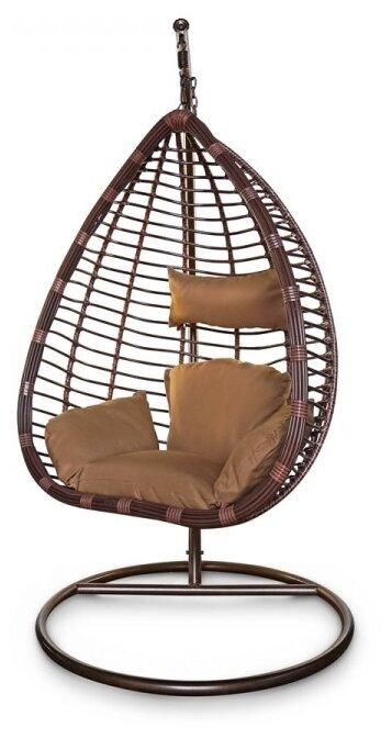 Подвесное кресло-кокон Kvimol с большой корзиной KM-0016