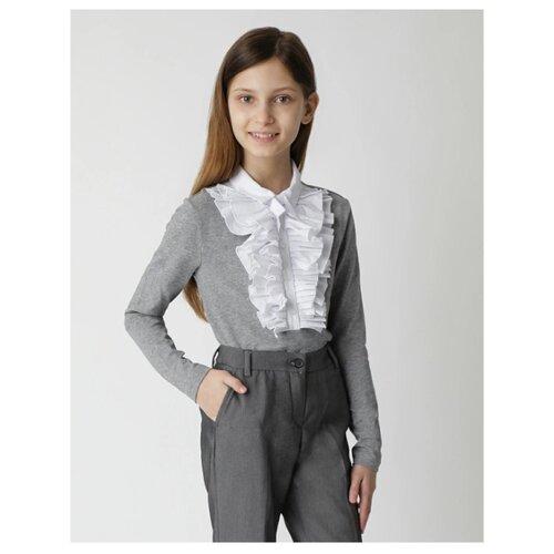 Купить Блузка Gulliver размер 122, серый, Рубашки и блузы