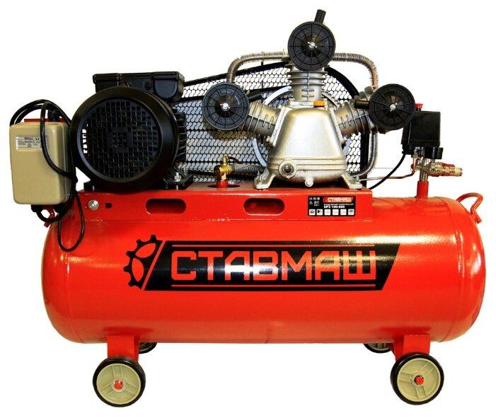 Компрессор масляный Ставмаш КР3 100-650, 100 л, 3.5 кВт