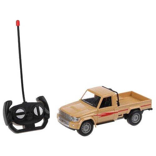 Купить Внедорожник Наша игрушка HH106A 1:20 21 см бежевый, Радиоуправляемые игрушки