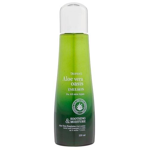 Deoproce Aloe Vera Oasis Emulsion Увлажняющая эмульсия для лица Алое вера 150 млУвлажнение и питание<br>