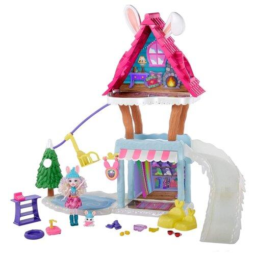 Купить Игровой набор Enchantimals Hoppin Ski Chalet Лыжный домик, GJX50, Куклы и пупсы