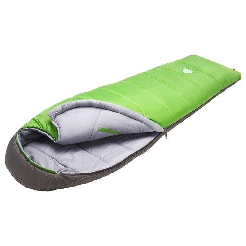 Спальный мешок TREK PLANET Comfy зеленый/серый с правой стороны