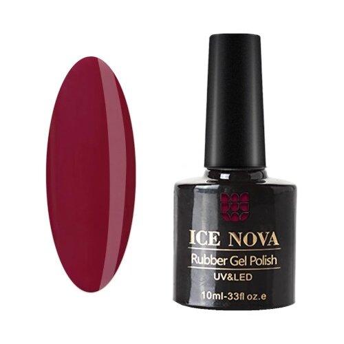 Купить Гель-лак для ногтей ICE NOVA Rubber Gel Polish, 10 мл, 047