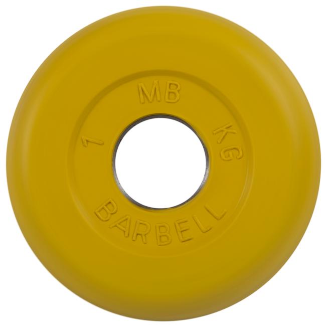 Диск MB Barbell Стандарт MB-PltC26 1 кг