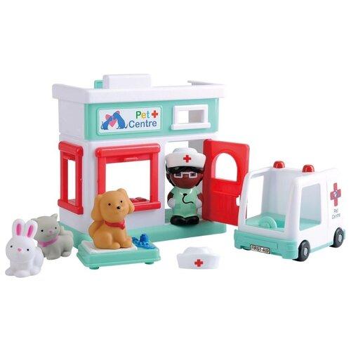 Игровой набор PlayGo Ветеринарная клиника playgo игровой набор тостер цвет розовый