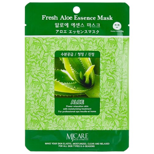 Купить MIJIN Cosmetics тканевая маска Fresh Aloe Essence, 23 г
