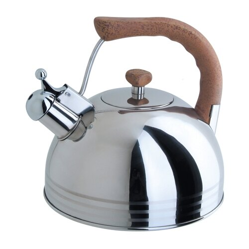 Фото - Regent Чайник со свистком 93-2503B.1 2.5 л стальной чайник 3 л со свистком regent tea 93 tea 31