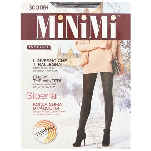 Колготки MiNiMi Siberia 300 den, размер 3-M, nero (черный) колготки minimi lanacotone 180 den размер 3 m nero черный