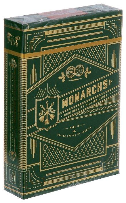 Карты для покера Theory 11 Green Monarchs