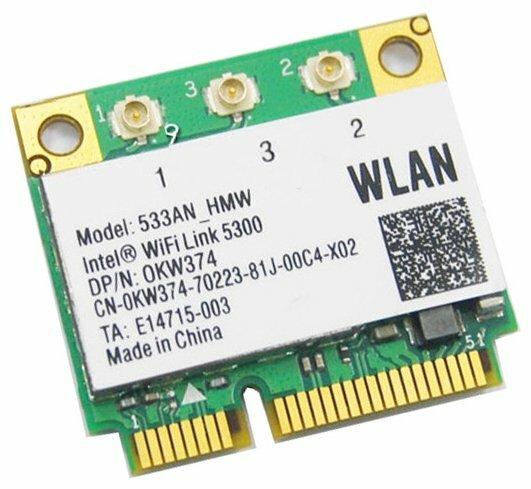 Wi-Fi адаптер Intel 533AN HMW