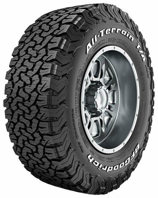 Автомобильная шина BFGoodrich All-Terrain T/A KO2 265/60 R18 119S летняя — купить по выгодной цене на Яндекс.Маркете