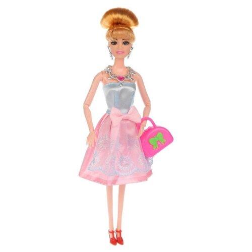Купить Кукла Наша игрушка в атласном платье 28 см DX511A, Куклы и пупсы