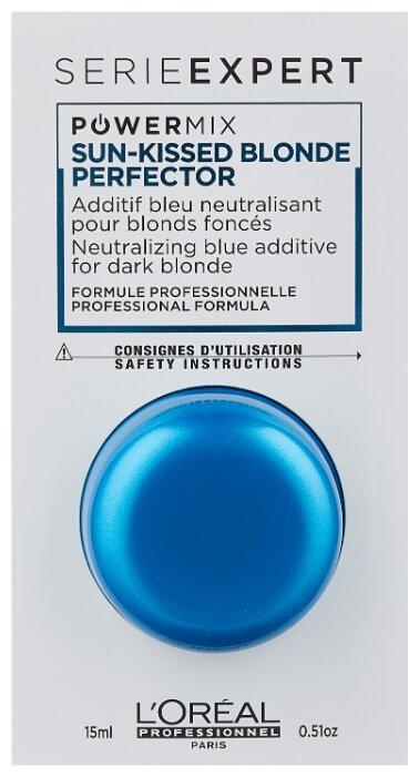 L'Oreal Professionnel Powermix Sun-kissed Blonde Perfector Флюид-добавка для волос для поддержания оттенков блонд с синим пигментом Blue