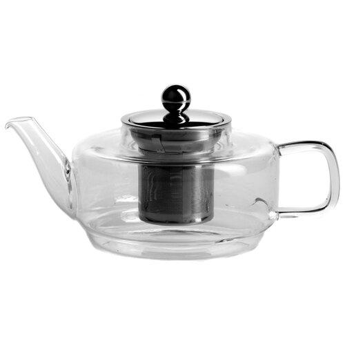 Gotoff Заварочный чайник 8406 700 мл прозрачный