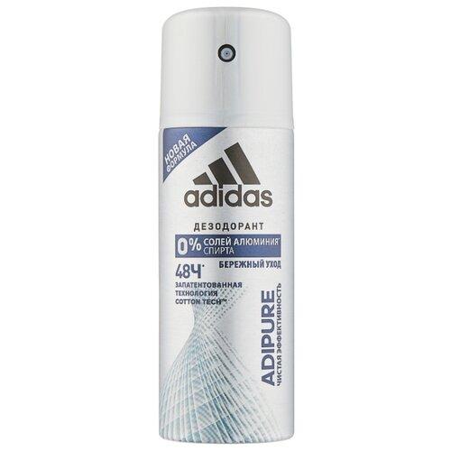 Дезодорант-антиперспирант спрей Adidas Adipure, 150 мл adidas дезодорант антиперспирант спрей cool