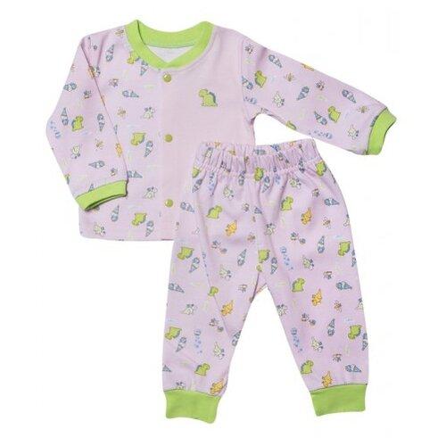 Комплект одежды Клякса размер 24-80, розовый, Комплекты  - купить со скидкой