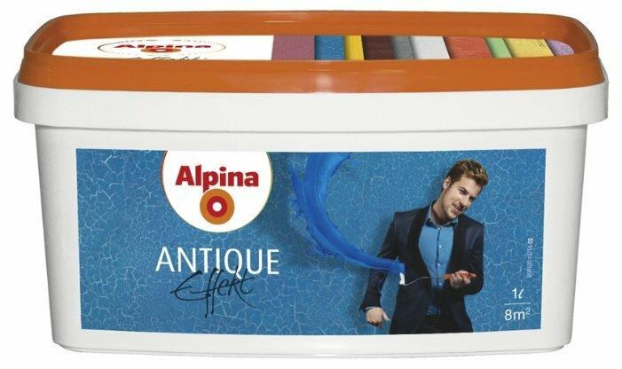Лак Alpina Antique Effekt водорастворимый