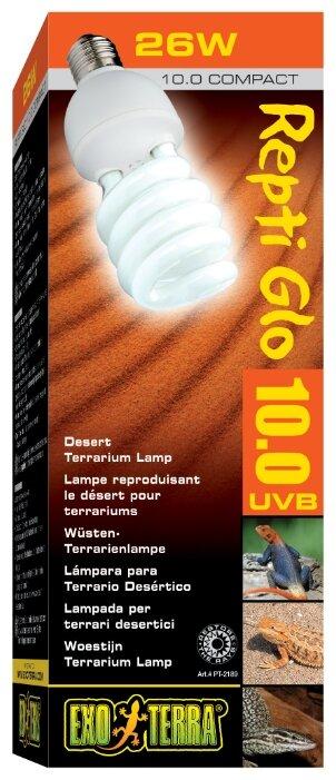 Лампа 26 Вт Exo Terra Repti Glo 10.0 Compact (PT2189)