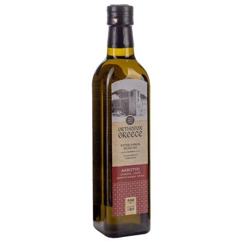Akrotiri Масло оливковое Extra Virgin, стеклянная бутылка 0.5 л