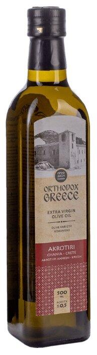 Akrotiri Масло оливковое Extra Virgin, стеклянная бутылка