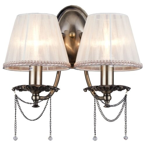 Настенный светильник MAYTONI Rapsodi RC305-WL-02-R, 80 Вт бра rapsodi rc305 wl 02 r