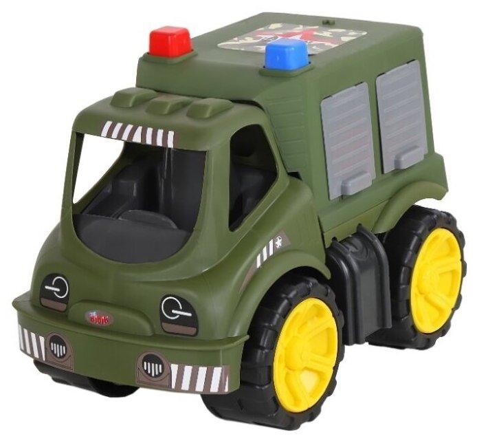 Грузовик Джамбо Тойз Военная машина (JB5100023)