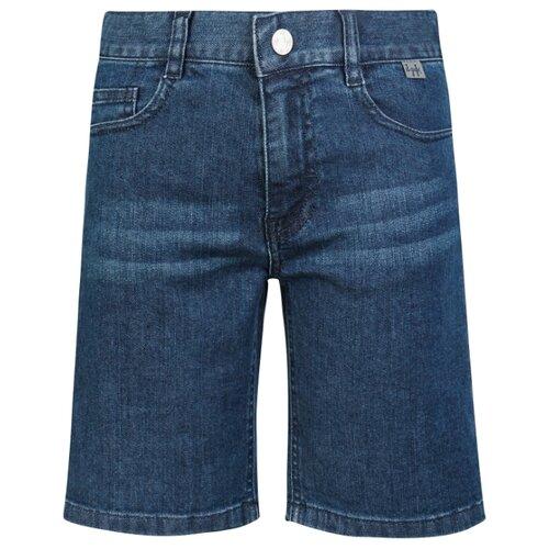 Купить Шорты Il Gufo P19PB117J0026 размер 92, синий, Брюки и шорты