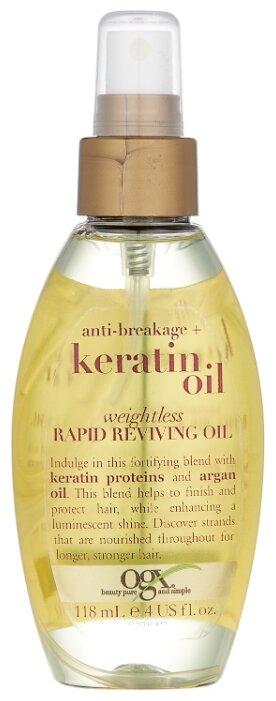 OGX Легкое кератиновое масло против ломкости волос