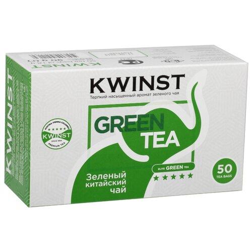 Чай зеленый Kwinst в пакетиках