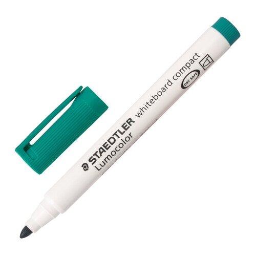 Фото - Staedtler Маркер для доски Lumicolor Compact (341), зеленый маркер для доски staedtler 301 5 1 мм зеленый